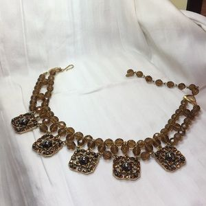 Women's beaded necklace vintage.